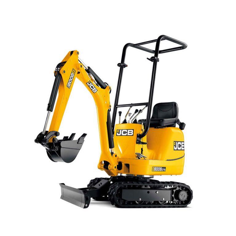 0.8 ton Excavator hire basingstoke
