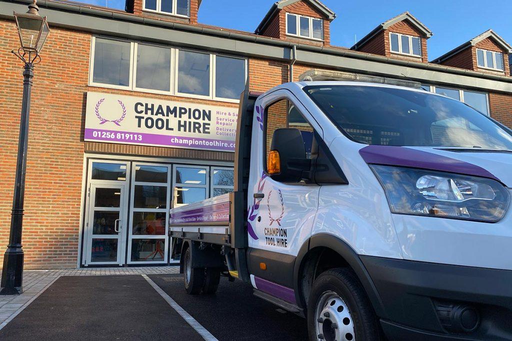 Champion Tool Hire Shop Basingstoke